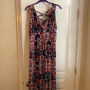 Stitch Fix Loveappella maxi dress.